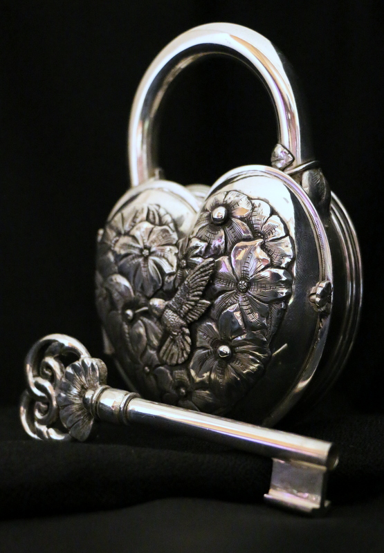 Sterling Silver Padlock