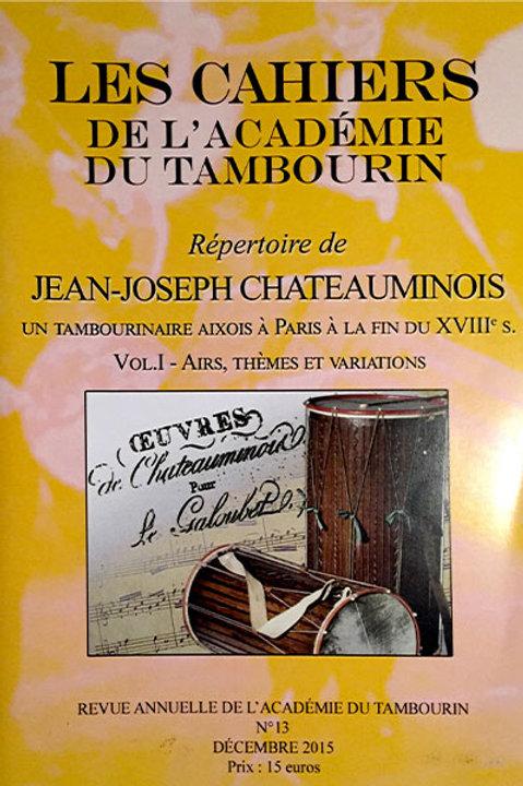 Répertoire de Jean-Joseph Chateauminois - Volume 1