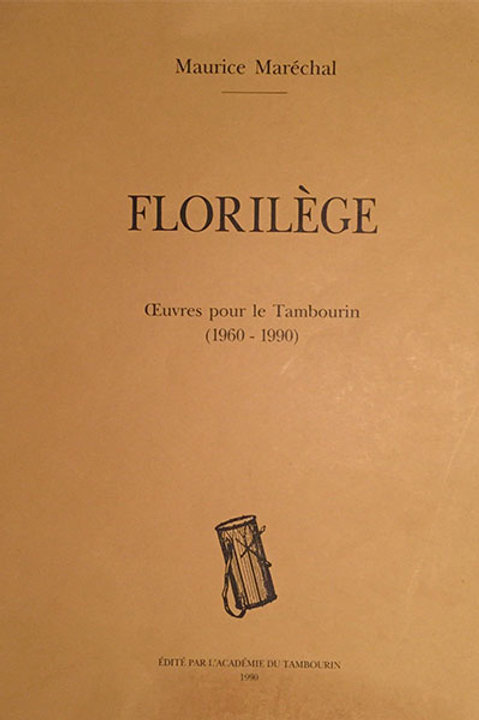 Florilège - Maurice Maréchal