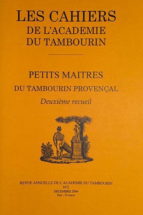 Petit maîtres du tambourin provençal - Volume 2