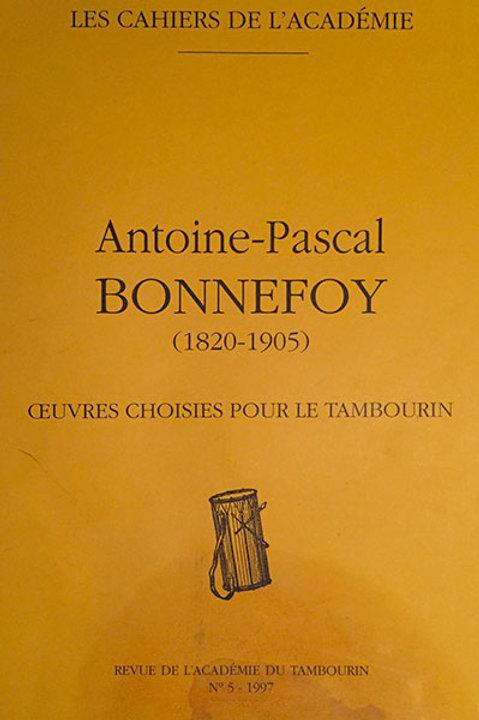 Antoine Pascal Bonnefoy (1820 - 1905)