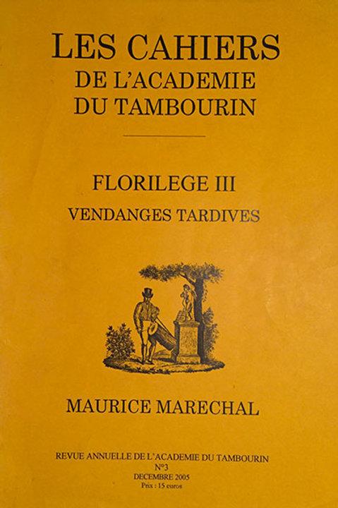 Florilège III - Maurice Maréchal