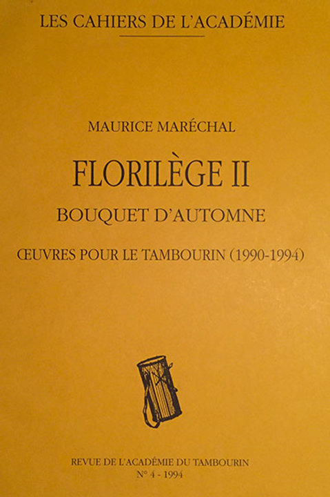 Florilège II - Maurice Maréchal