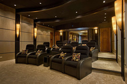 Custom luxury home cinema by ASL