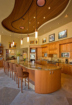 Luxury kitchen w/ brilliant lighting