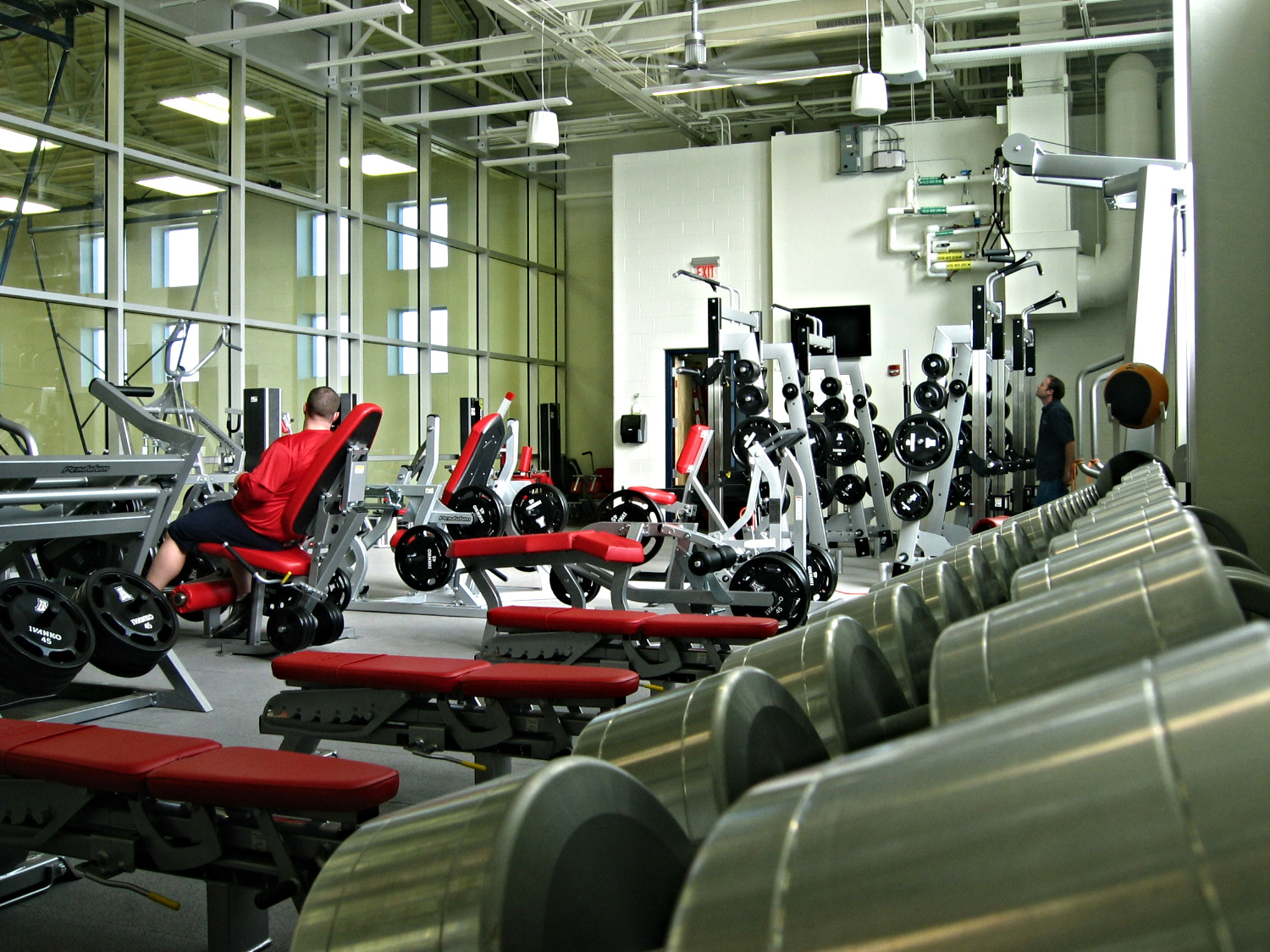 av systems technology group Leap Motion Technology lighting in uofa weightroom