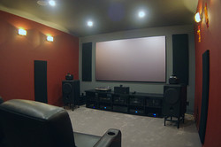 Custom home theater & sound system