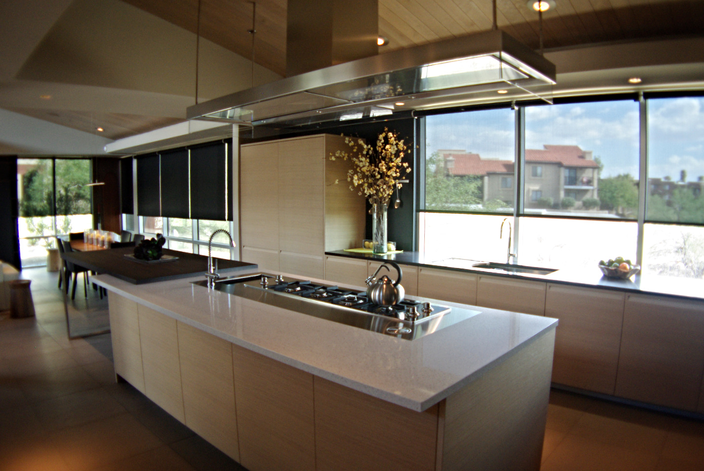 ASL kitchen lighting & shade design