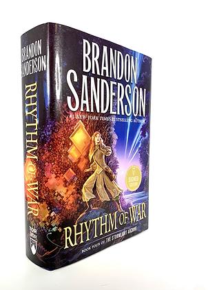Rhythm Of War by Brandon Sanderson (signed)