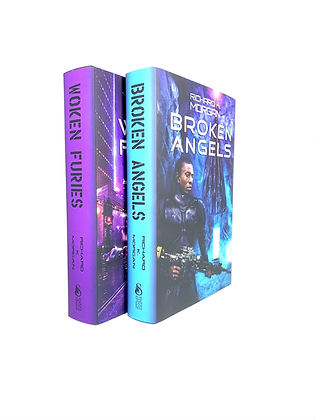 Broken Angels and Woken Furies by Richard K. Morgan