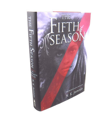 The Fifth Season by N K Jemisin Signed