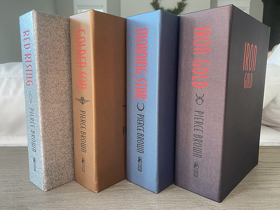 Red Rising Trilogy + Iron Gold by Pierce Brown
