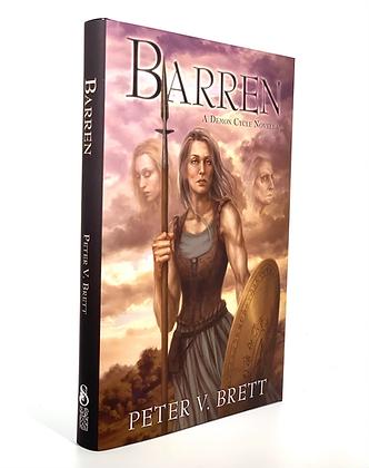 Barren by Peter V. Brett