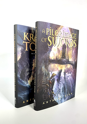 A Pilgrimage of Swords and The Kraken's Tooth by Anthony Ryan