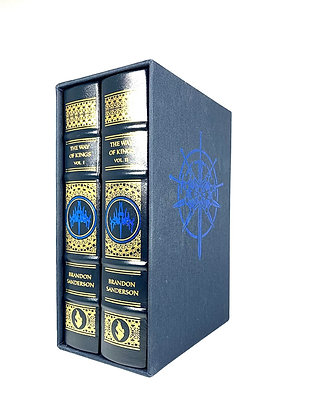 The Way of Kings Volume I & II by Brandon Sanderson