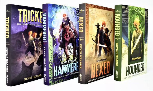 Hounded, Hexed, Hammered, Tricked by Kevin Hearne
