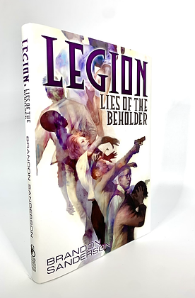 Legion lies of the behold by Brandon Sanderson