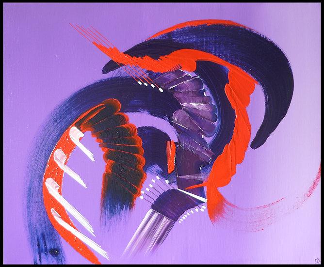 Peinture abstraite L'emprise