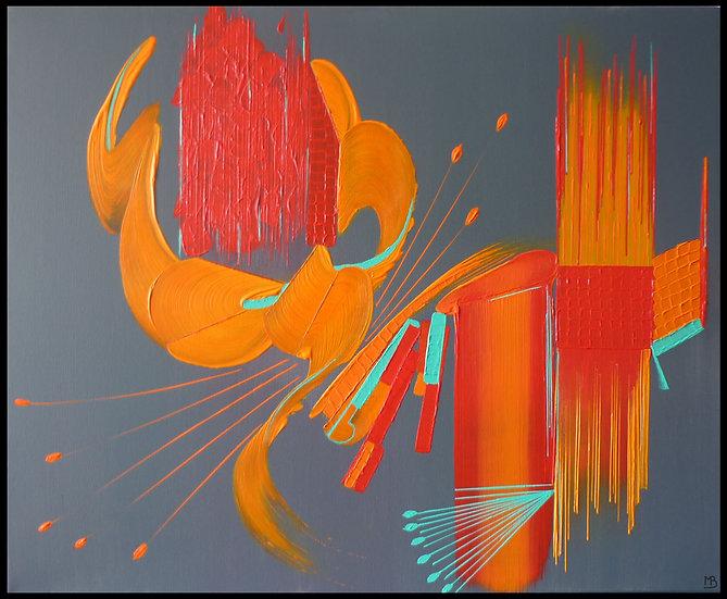 Peinture abstraite Providence