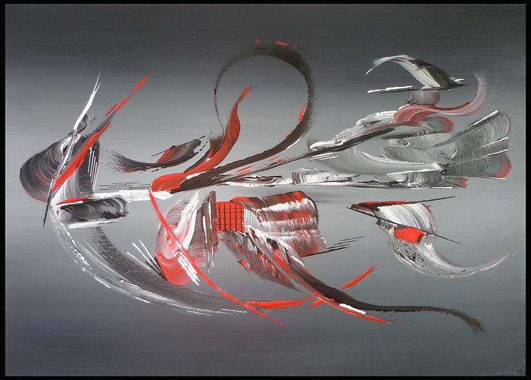 Peinture abstraite Aspiration
