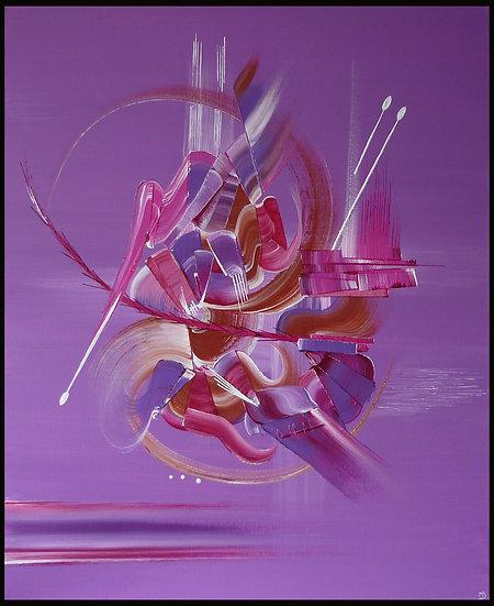 Peinture abstraite Espérance