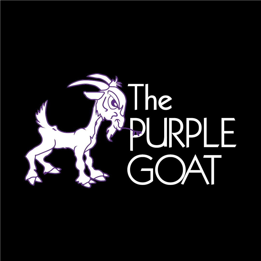 purple goat logo with text(1)