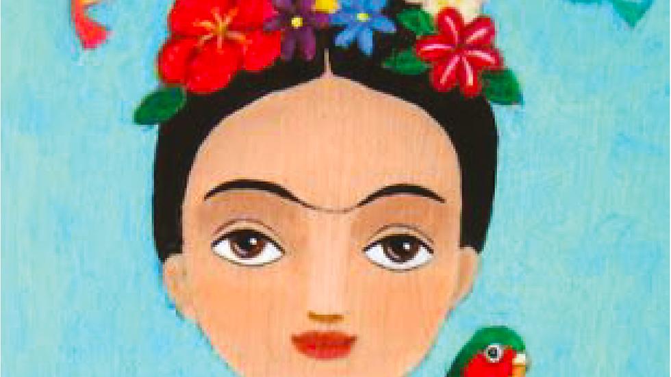 Frida Kahlo inspired Self Portrait