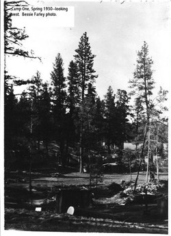 Camp One, Spring 1930
