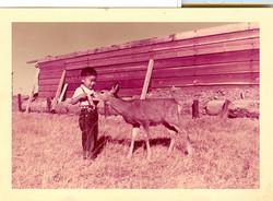 Paul and deer