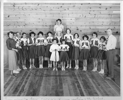Rope Jumping Team-1953-54