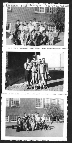 Turnabout day at school-possibly 1949