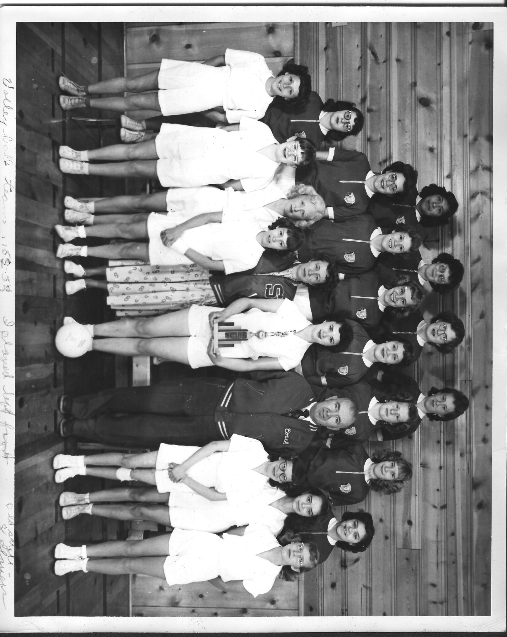 Volleyball Team-1952-53