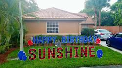 happybday sunshine