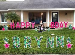 brynn 1st bday