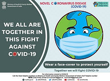 Wear face cover for protection english.j