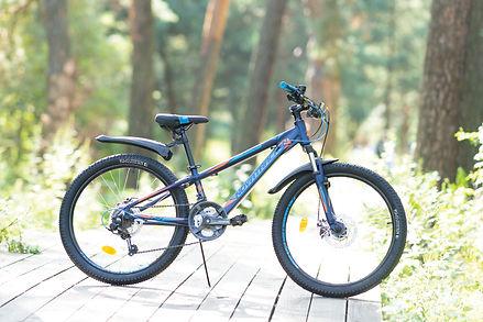 """Подростковый велосипед Lumen 24"""" v-brake"""