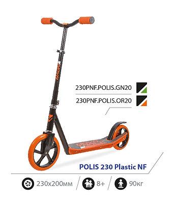 Novatrack Polis 230 Plastic NF