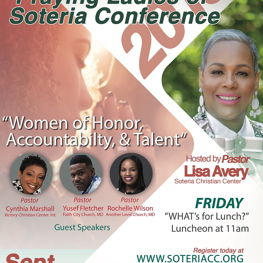 Praying Ladies of Soteria 2019 Conference