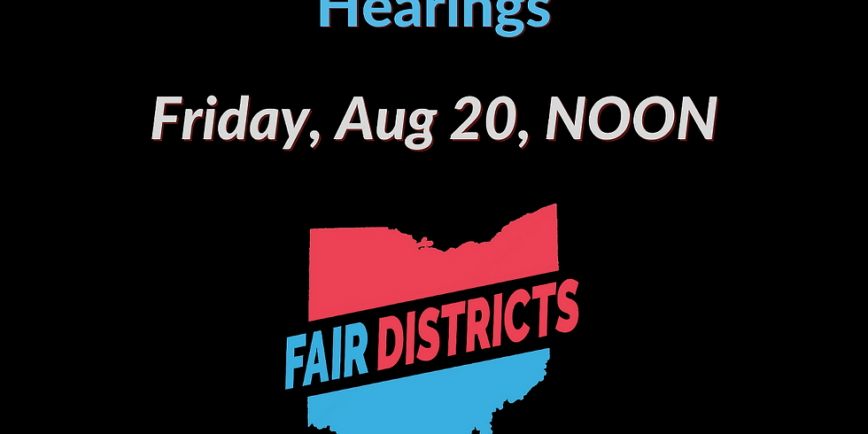 Prepping for Ohio Redistricting Commission Hearings