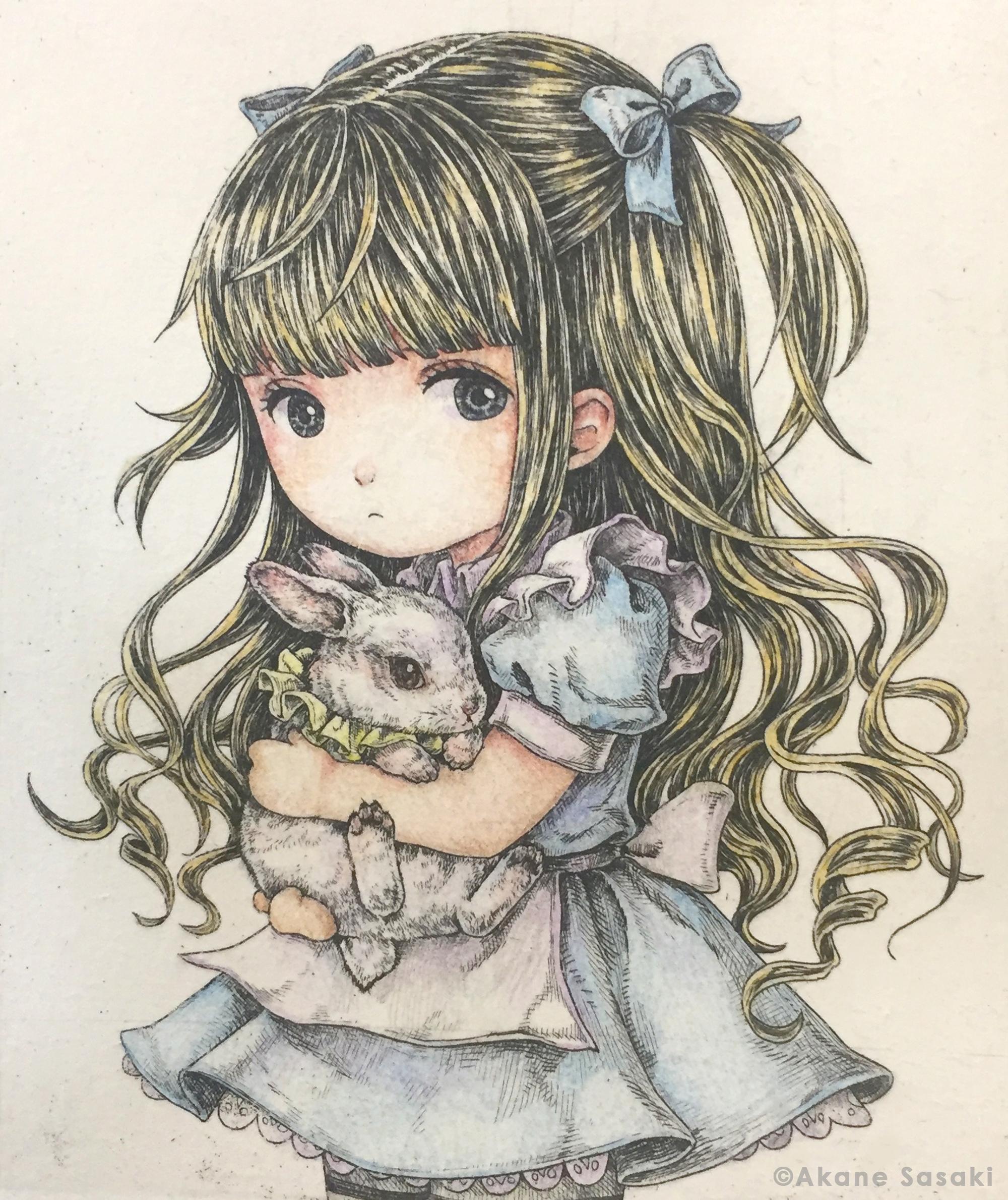 アリスと白ウサギ