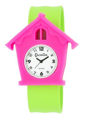 Schnapparmband-Uhr Kuckuck