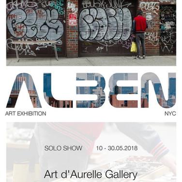 SOLO SHOW I Art d'Aurelle