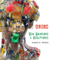 ALBEN New paintings and sculptures I Nine5 Gallery
