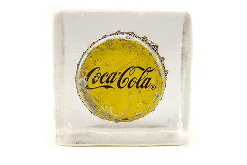 Bloc capsule Coca-Cola Mexico jaune