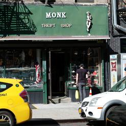 Monk thrift shop