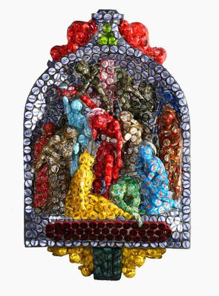 Altarpiece (retable) caps