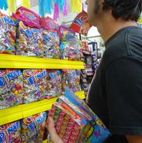 Las piñatas - Candy's supermarket