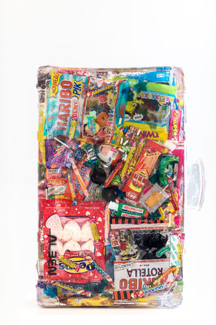 Suitcase candy