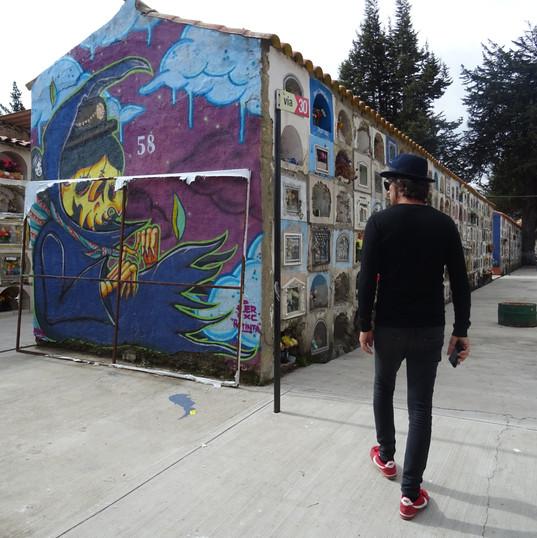 Street art - Cemetery