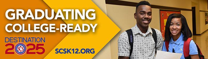 shelby county schools destination 2025 graduating college ready logo